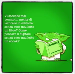 Gli editori sono lettori digitali?