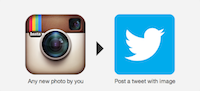 Instagram to Twitter - IFTTT