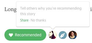 Medium Recommendation